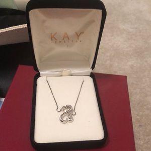 Kay jewelery heart necklace